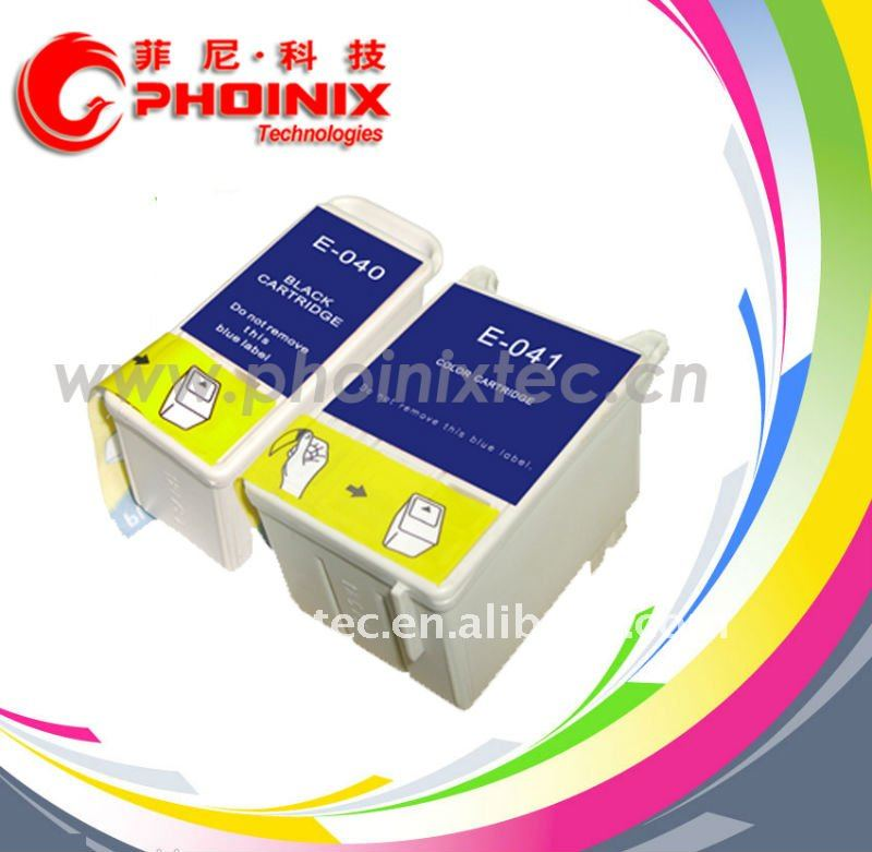 Compatible Ink Cartridge for Epson T040, T041