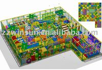 Indoor children castles,naughty castle, playground