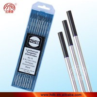 1% Lanthanated tungsten tig electrodes/welding bars/welding materials