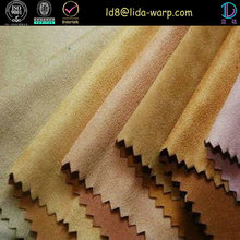 Economical custom design deerskin suede fabric