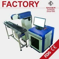 Economic classical pottery co2 laser marking machine