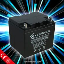factory supply 12v lead acid battery deep cycle battery 12v38ah solar battery for electric motor 12v38AH