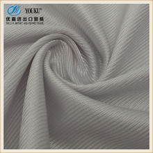 Polyester tricot mercerized lining plain fabric/plain mercerized cloth/tricot stripe mercerized fabric