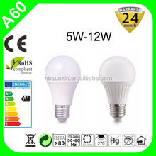 Cheapest price 6w 9w 12w 15w 20w e27 gls led, led lamppu e27, dimmable e27 led