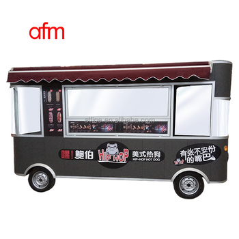 hot sale cheaper solar food truck for sale