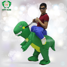 HI High quality inflatable dragon costume,inflatable walking dinosaur costume for adult and kid