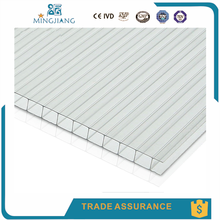 Bayer Material Polycarbonate Sheet For Greenhouse,Swimming Pool Roof,Hollow Polycarbonate Sheet/ PC Sheet