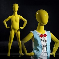 Boy models adjustable kids mannequins