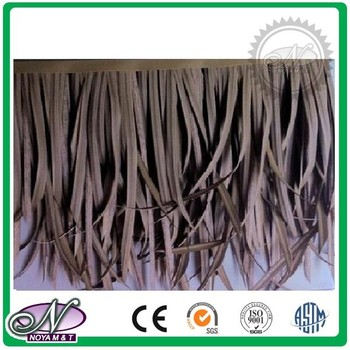 High quality synthetic thatch roof tiles