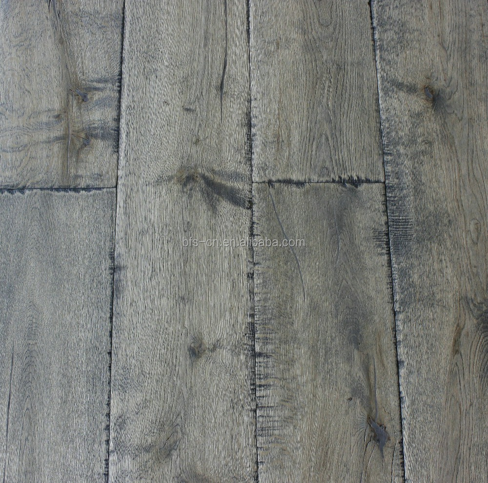 Rustic style A mixed colour handcrafted <strong>antique</strong> CARB2 Certification MATTE UV lacquer 3 - ply <strong>oak</strong> engineered Wood Flooring