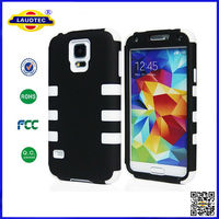 Robot Rubber Case for Samsung Models, For Samsung Galaxy S5 Hot Sale Case