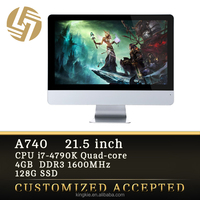 core i7-4790k aio 4k slim gaming desktop all in one pc 22 inch custom pc