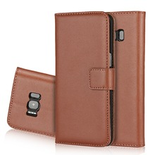 folio leather phone case for samsung s8 , card slot wallet cover for samsung s8 / s8 plus