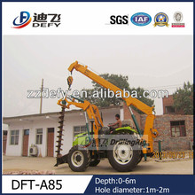 DFT-A85 hydraulic piling equipment, vertical boring machine