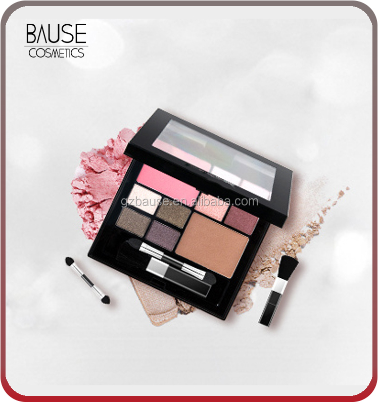 Best cosmetics makeup kit with eyeshadow blush and contour powder