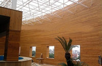 China New thermo treated solid wood