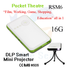 best sell mini projector for mobile phone cheap+lcd+mini+projector in stock RSM6