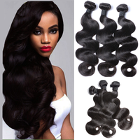 100% human hair brazilian virgin hair wholesale natural color real mink body wave
