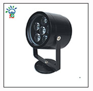 Factory direct outdoor spot light 1watt 3pcs rgb IP65