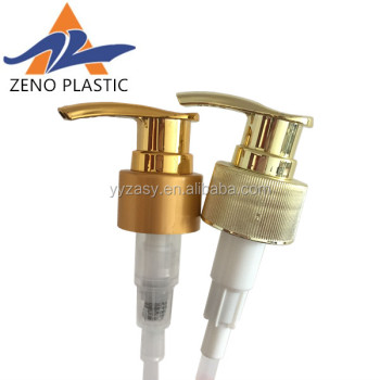 24mm 2018 new design aluminum plastic lotion pump