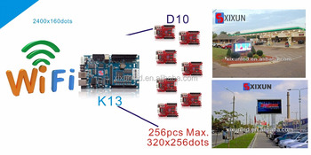 led advertising display receiving card wifi controller K13 XIXUN