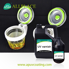 OEM Acceptable Uv Varnish High Quality Crystal Glass Coating Uv Glass Coating for Car Beauty