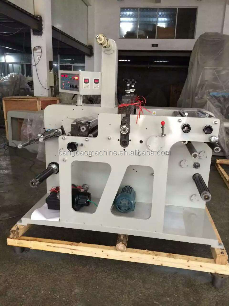 automatic tape slitting machine with circular pressure