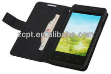 Book Style Leather Case For Smartphone Cover