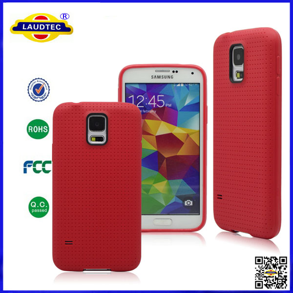 RoHs Free Sample Nontoxic TPU Case For Galaxy s5