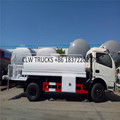 Dongfeng 4x2 LHD 5-7 Tons load high quality water pump food grade stainless steel tank water truck