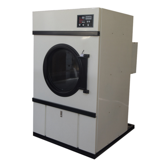 Professional manufacturer 120kg commercial clothes dryers of CE and ISO9001 standard