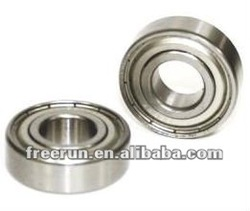 Si3N4 balls double metal shielded 12x37x12mm 6301ZZ Ceramic bearing