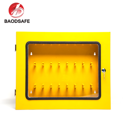 BAODI Bulk Customized Yellow Colour Combination Safety Lockout Station