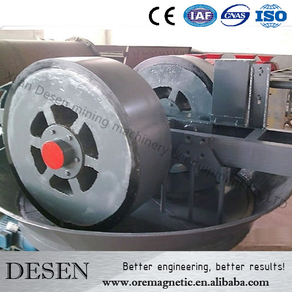 China Wet Pan Mill For Gold,Mercury Board For Pan Mill