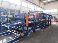 Roof PU sandwich panel making machine/ Wall sandwich panel production line