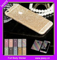 JESOY Beauty Bling Full Body Glitter For iphone 6 6s Sticker Protector Phone Case Skin