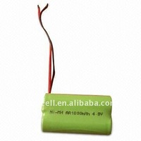 AAA battery aaa 1.2v NI-MH rechargeable battery pack with lead wire & connector battery pack