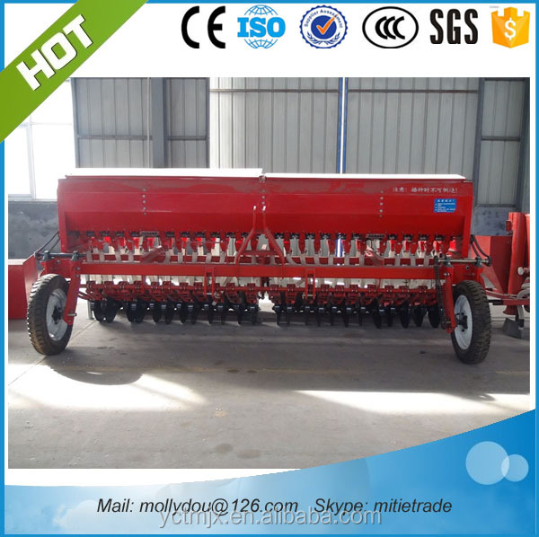 hot sells 24rows 2BFX-24 No-tillage wheat fertilizer seeder drill