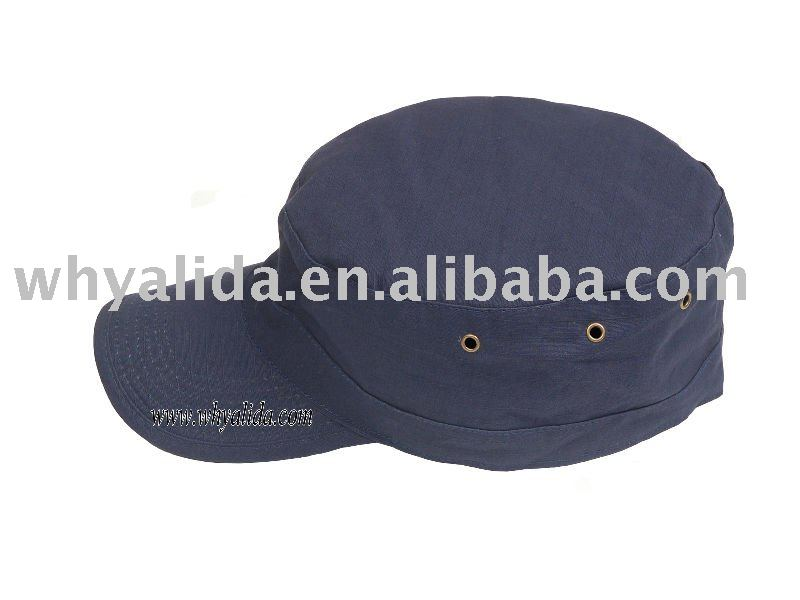 65 35 polyester and cotton Twill/Ripstop Military Army Blue Patrol hat