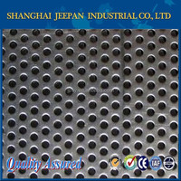 304 diameter 2mm stainless steel perforated sheet