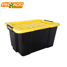 Pinyaoo Storage Factory Price Waterproof 60L Plastic Storage Box For Storage Clothes
