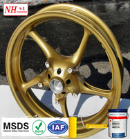 Heavy Metal-free Gold Epoxy Powder Paint