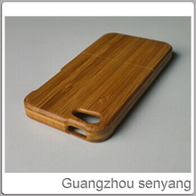bamboo smart phone case for iphone 5 5s