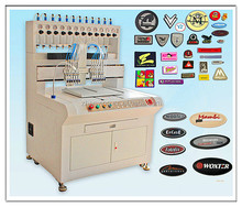 colorful pvc/silicone garment labels making machine