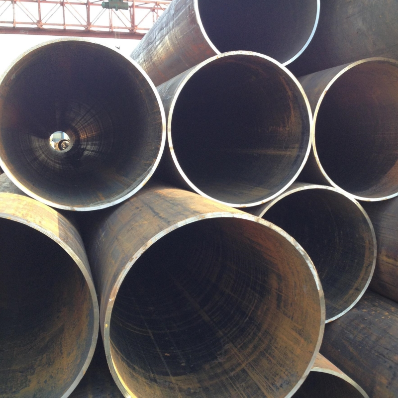 "China manufacturers GB Q195 Q235 Q345 ssaw 8""-50"" ASTM A53 GRB round carbon spiral welded steel pipe"