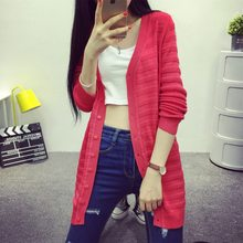 Bottom price top sell hand knitted ladies cardigan
