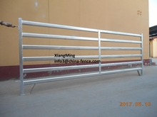 galvanized oval tube goat panels / portable sheep fence panels