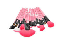 Hot selling Pink Pro 24pcs makeup brush set make up brushes 32 pieces