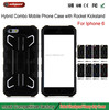 New arrival Armor phone case dual kickstand rocket case for iphone 6