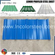 corrugated metal roofing sheets width 820mm color roof price in the philippines